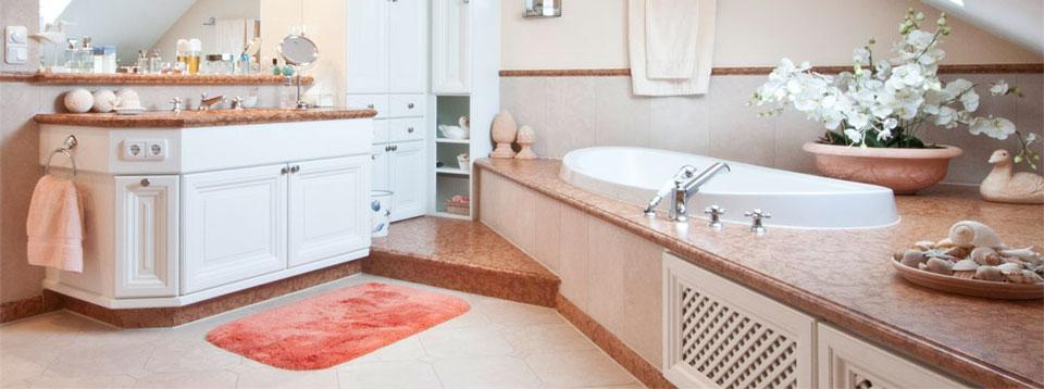 Badezimmer antik aus Marmor
